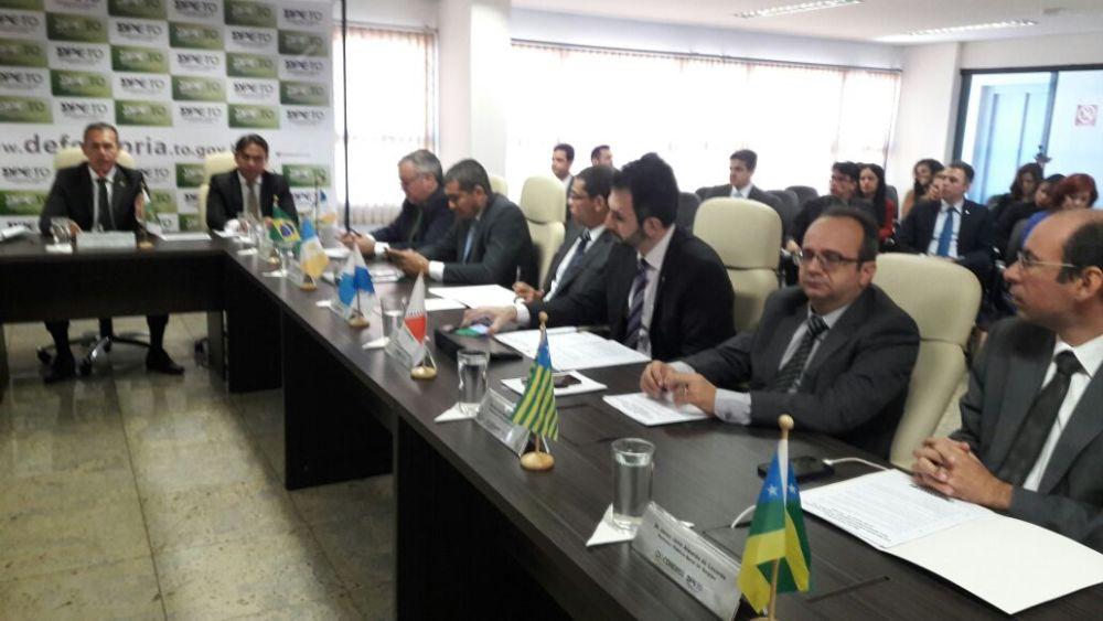 Dr. Erisvaldo Marques em reunião do CONDEGE no Tocantins