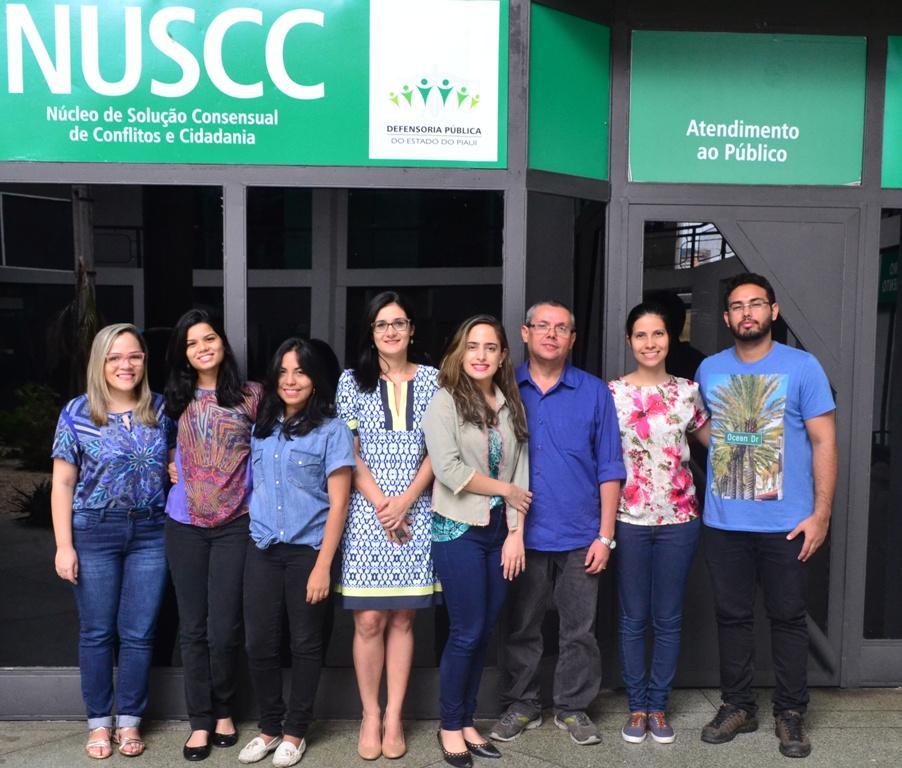Equipe do Núcleo de Solução Consensual de Conflitos e Cidadania