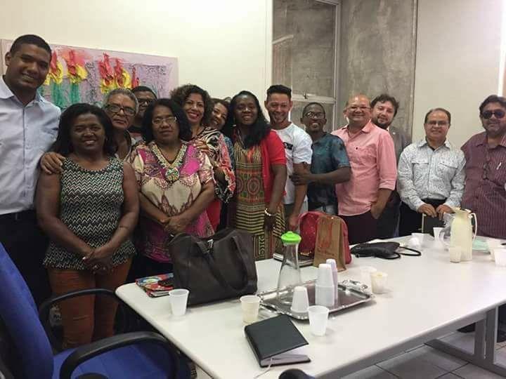 Dr. Igo Sampaio e demais participantes da reunião
