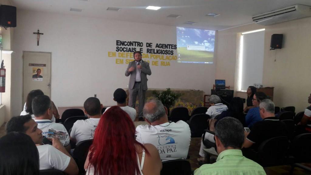 Dr. Igo Sampaio em evento no Edifício Paulo VI