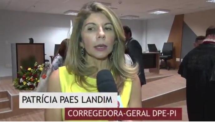 Dra. Ana Patricia Salha Corregedora Geral DPE-PI