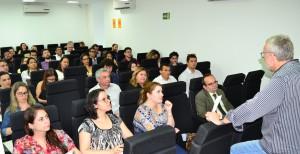 Palestra aconteceu na última sexta-feira no auditório da ESDEPI.