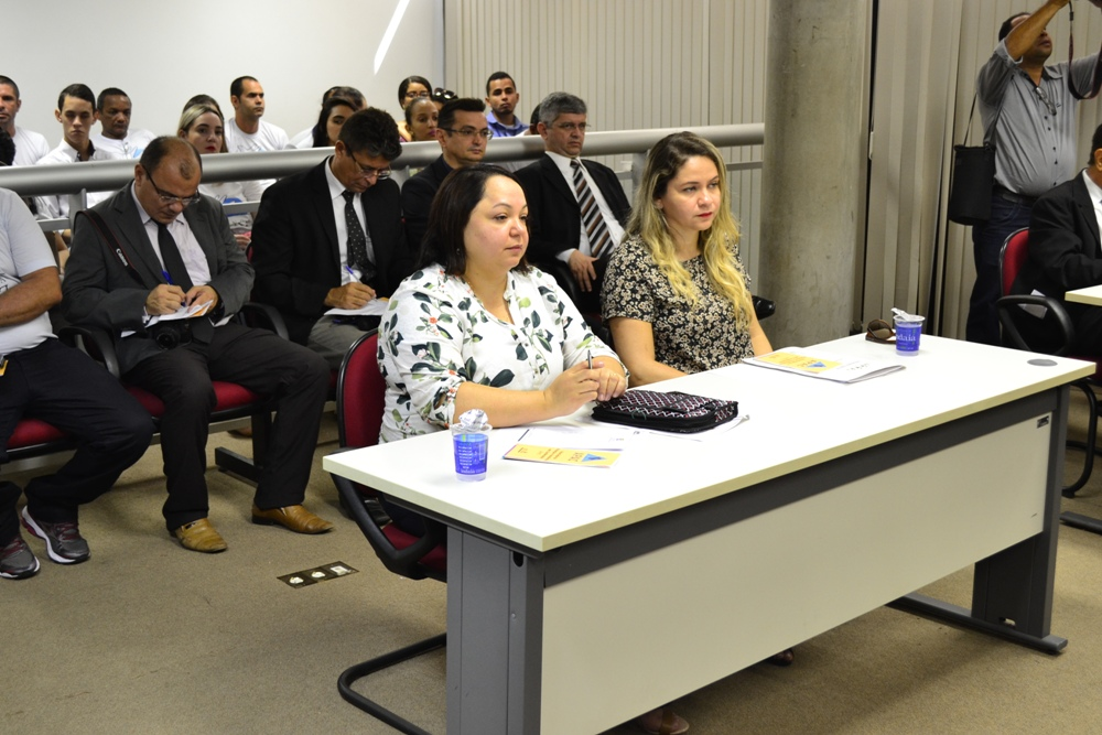 Dra. Irani Albuquerque durante a audiência pública sobre a APAC