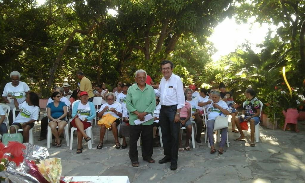 Dr. Marcos Siqueira durante o evento em Ilha Grande