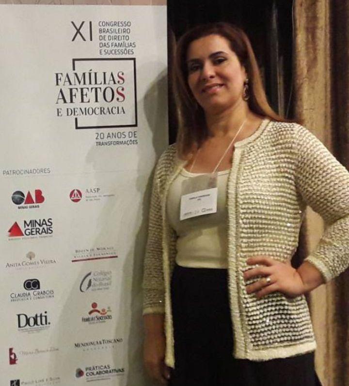Dra. Sheila de Andrade Ferreira no Evento do IBDFAM