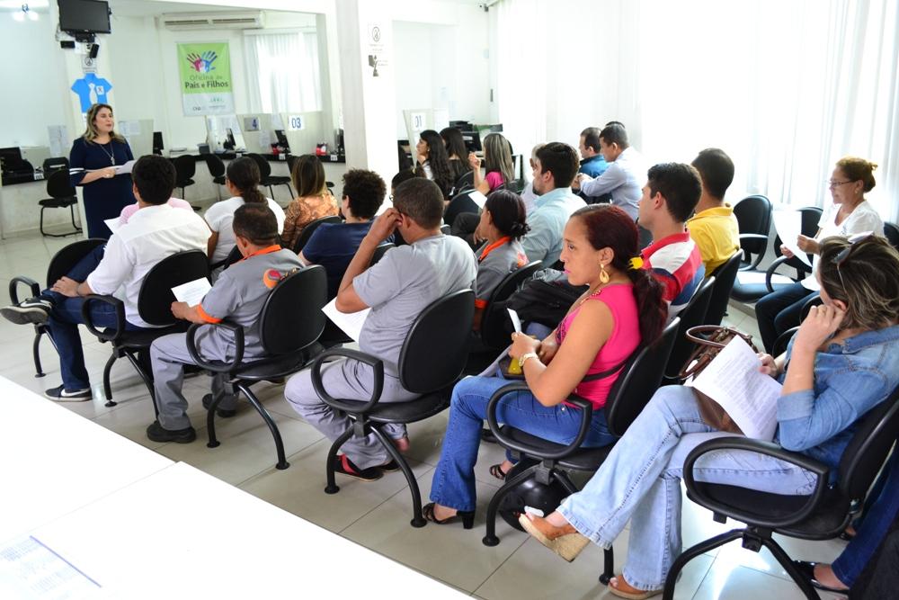 Reunião com os fiscais do Teste seletivo para estagiário