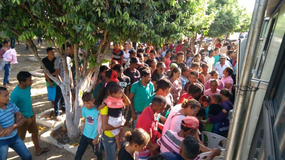 População comparece ao atendimento da Defensoria Itinerante em Madeiro