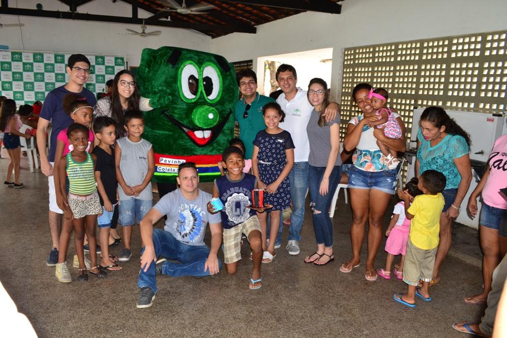 Ação da defensoria Itinerante na Escola Municipal Santa Fé Bairro Angelim
