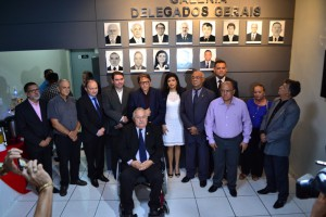 Ex-Delegados homenageados