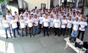 Homens engajados no combate a violência contra as mulheres