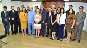 Representantes das Instituições e Órgãos parceiros no Termo de Cooperação