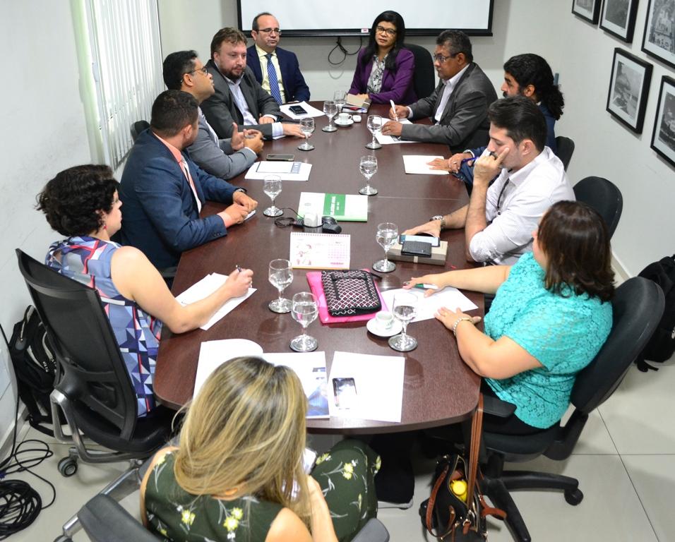 Reunião aconteceu no Gabinete da defensoria Pública
