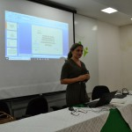Dra. Patrícia Monte durante a apresentação do Plano de Erradicação do Sub-Registro Civil