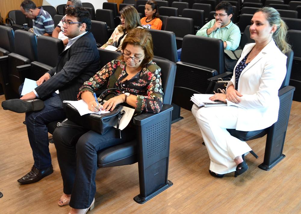 Dra. Patrícia Monte participou da reunião