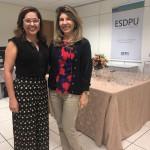 Dra. Andrea Melo e Dra. Ana Patrícia Salha