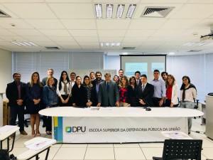 Curso foi realizado em Brasília