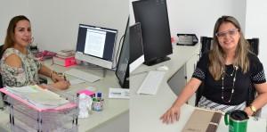 Dra. Daniela Bona e Dra. Karla Cibele Andrade