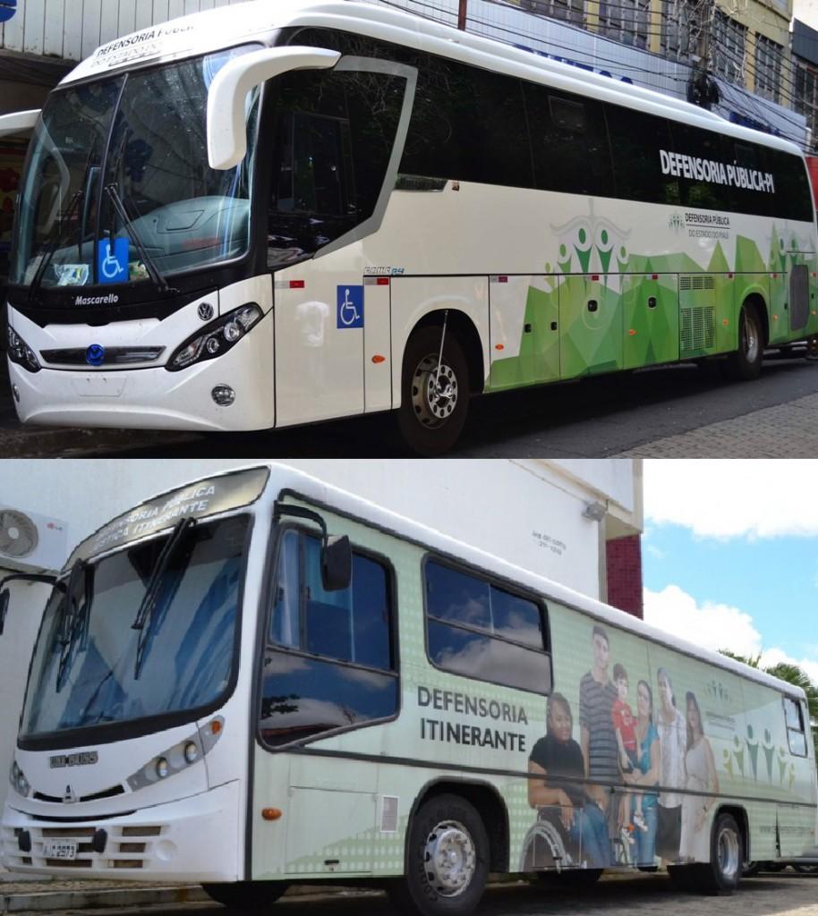 Novo ônibus vem somar ao que já é utilizado pela Defensoria