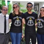 Dr. Erisvaldo Marques e o grupo de assisitentes sociais da DPE-PI