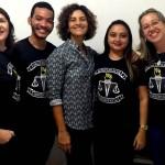 Dra. Verônica Acioly e o grupo de assisitentes sociais da DPE-PI