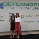 Dra. Juliêta Aires e Dra. Elisa Arcoverde