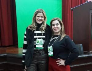 Dra. Rosa Viana e Dra. Sheila Andrade no evento em Gramado (RS)