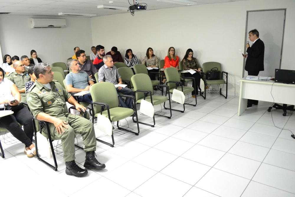 Capacitação aconteceu na Controladoria Geral do Estado