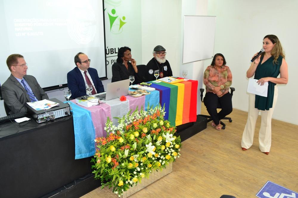 Dra. Patrícia Monte se pronuncia na abertura da Oficina