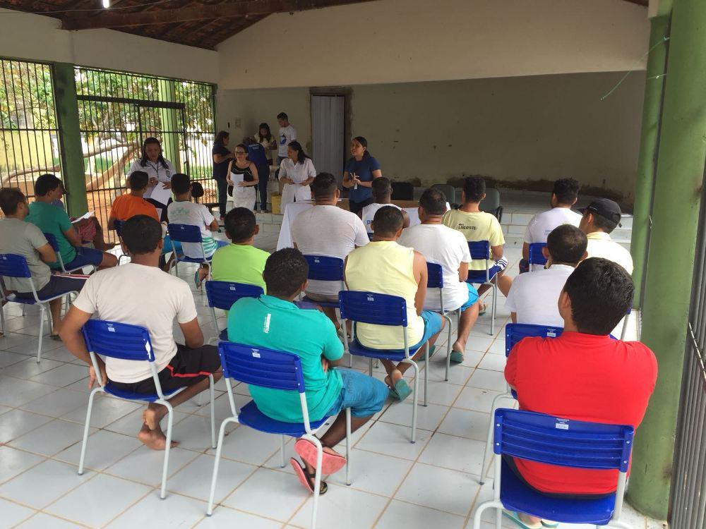 Dra. Ana Cristina Carreiro fala aos reeducandos