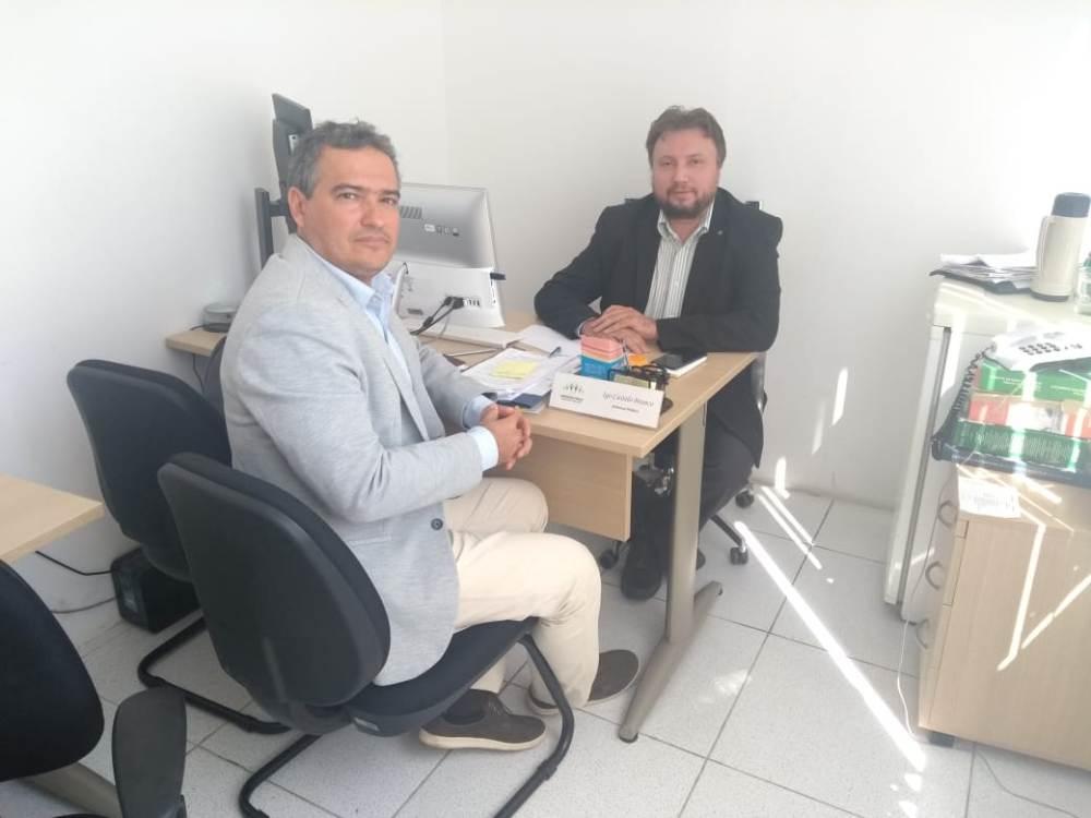 Dr. Igo Sampaio e Dr. Flávio Viana