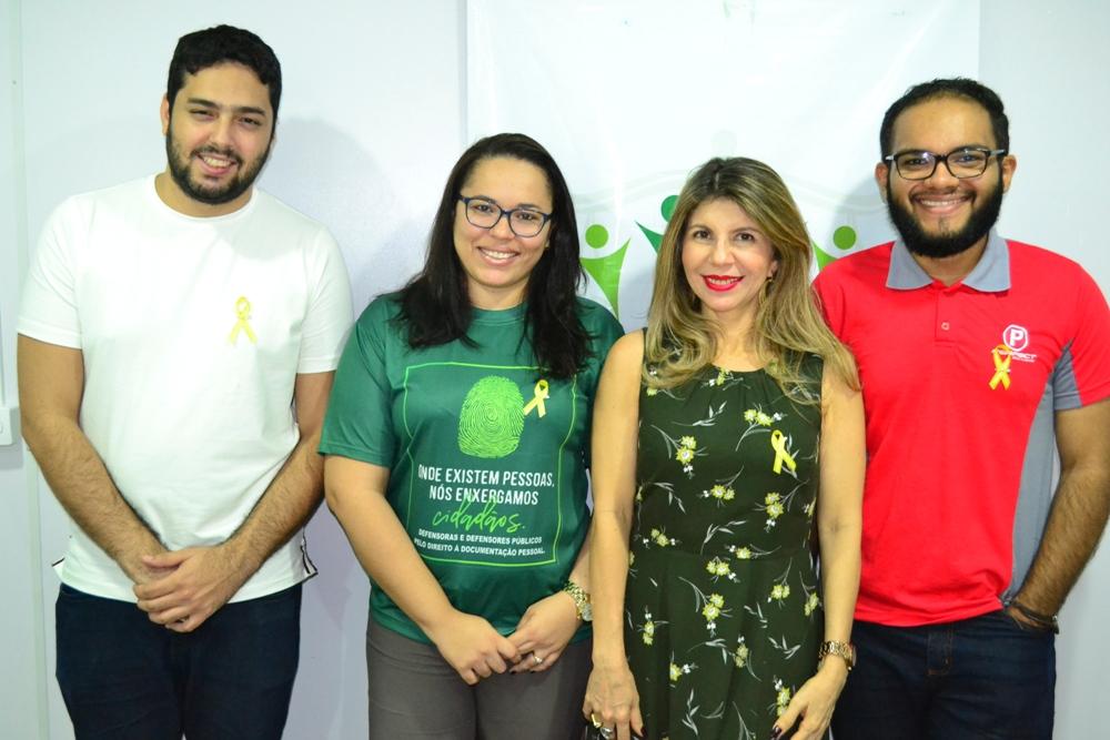 Equipe da Corregedoria adere ao laço amarelo