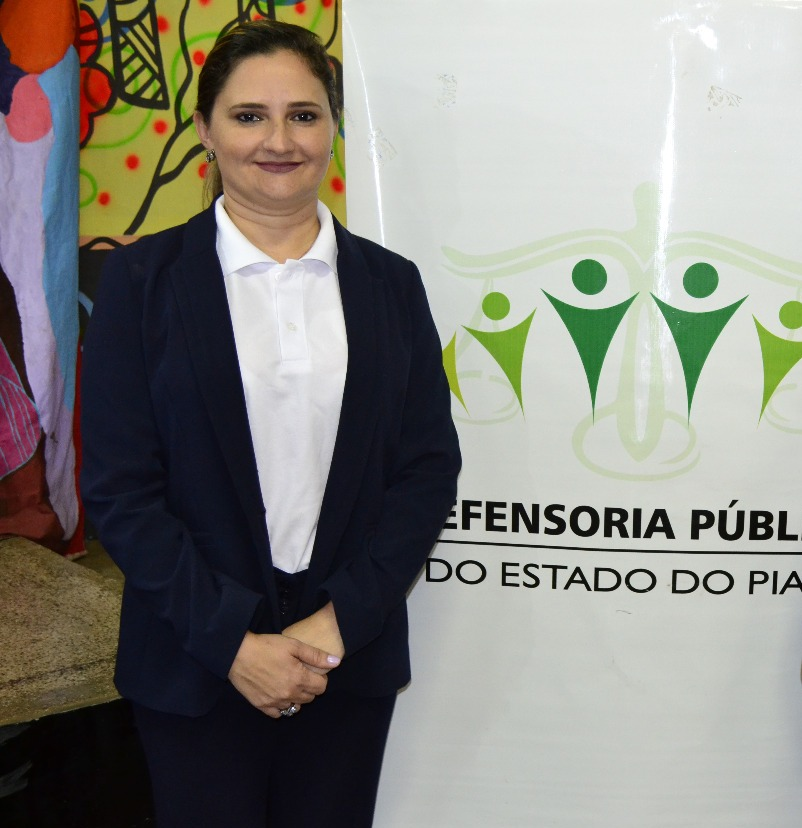 Dra. Patrícia Monte, autora do Programa Defensorial de Assistência Integral ao Preso
