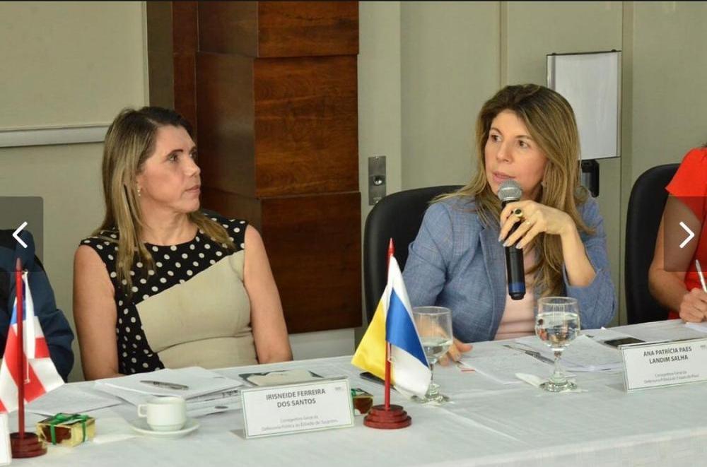 Dra. Ana Patrícia se manifesta durante a reunião em Goiás