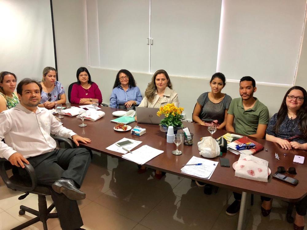 Reunião aconteceu na sede da DPE-PI
