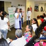 Ação de Saúde com professores e alunos da UFPI