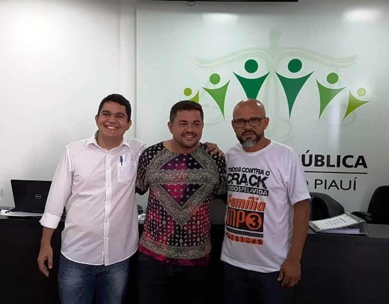 Carlos Amorim, Nayro Victor Leite  e Francisco Júnior concorrem ao cargo de Ouvidor-Geral