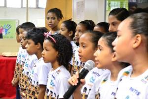 Coral Infantojuvenil do Projeto Música Para Todos