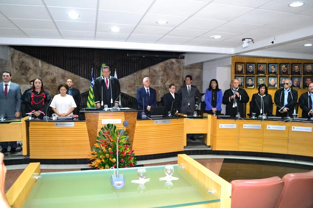 Abertura do Ano Judiciário no auditório do Tribunal Pleno