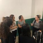Dra. Maria teresa Correia e Dra. Gilmara Pessoa orientam a equipe em Picos (Divulgação)