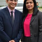 Dr. Marcelo Pierot e Dra. Hildeth Evangelista