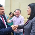 Governador visita obra da Defensoria Pública