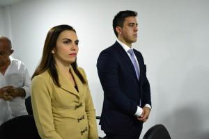 Dra. Luciana Moreira Araújo na inauguração do Procon