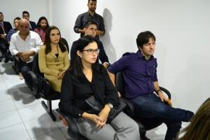 Dra. Luciana Moreira Araújo e Dra. Ângela Barros na inauguração do Procon Municipal