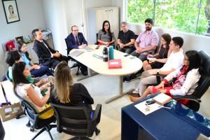 Reunião aconteceu no Gabinete da Defensora-Geral