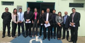 Dra. Dayana Magalhães e equipe que integrou o Esforço Concentrado