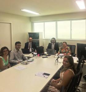 Dr. Leonardo Barbosa em audiência da Semana
