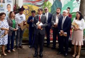 Dr. Igo Castelo Branco Solenidade abertura da 17 semana dos povos indigenas