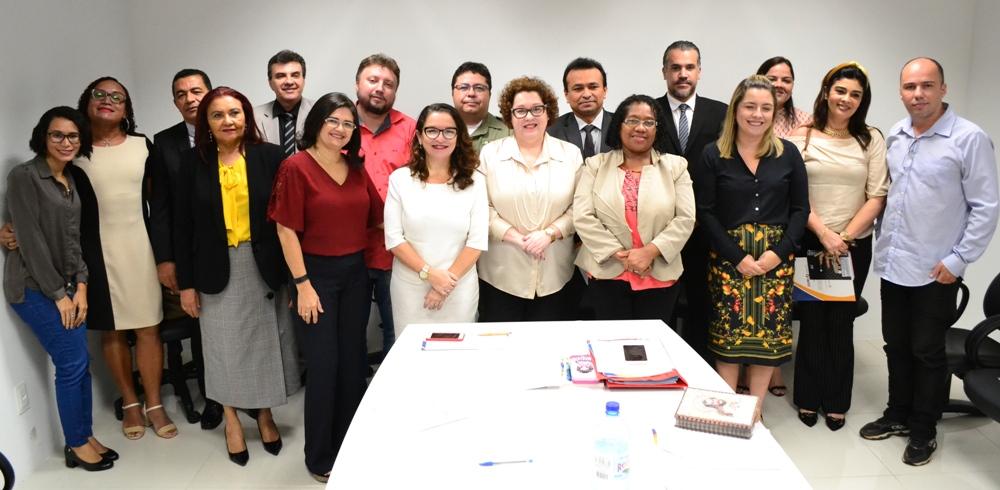 Integrantes da Rede de Direitos Humanos