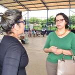 Subdefensora Pública Geral fala com a Secretária Executiva de Assistência Social do Município