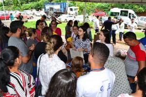 Atendimento da Defensoria Pública no Parque Rodoviário